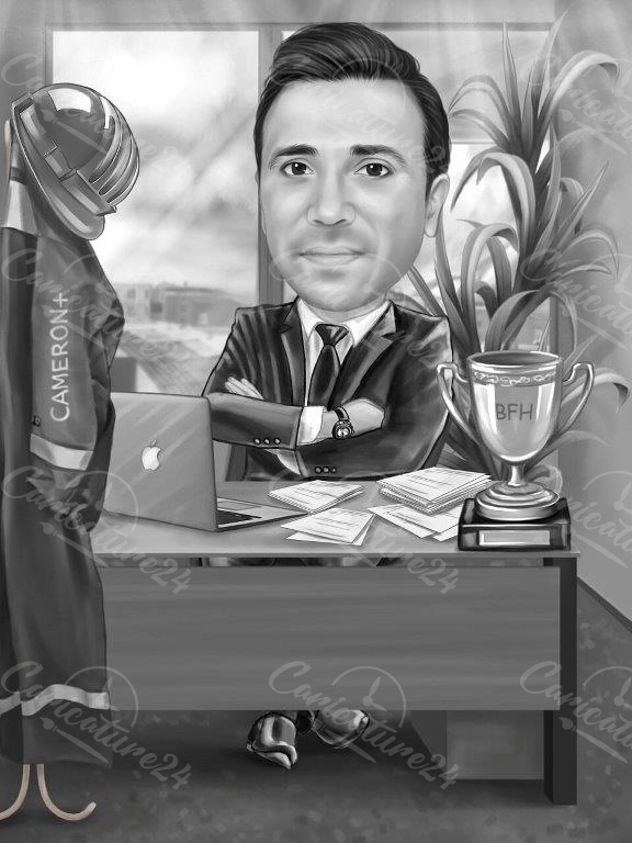 Black&White Caricature caricature drawings
