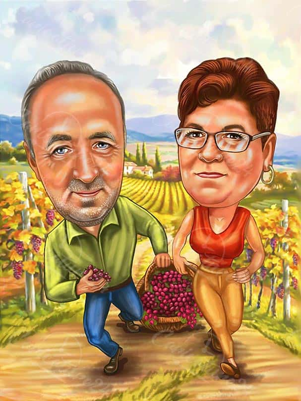 Caricature fot Farmers
