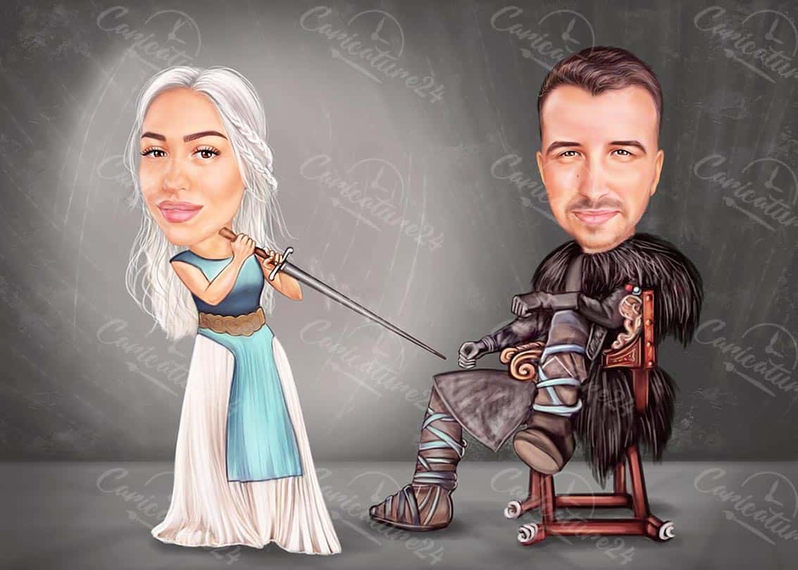 Game of Thrones Caricature from Photo