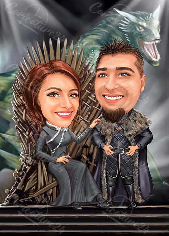 Game of Thrones Caricature