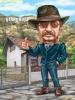 American Cowboy Caricature