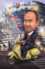 Business Man Caricature for Boss Day