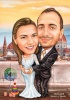 Customized Caricature from Photo for Wedding