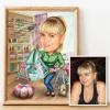 Designer Caricature for Woman