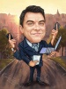 I Can Do It All Caricature for a Man