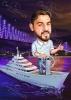 Seaman Caricature on a Ship